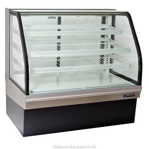 Master-Bilt CGB-59NR Display Case, Non-Refrigerated Bakery (Magnified)