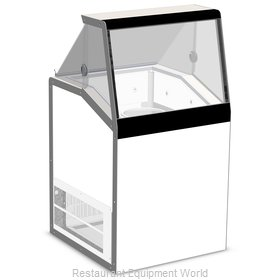 Master-Bilt DD-26L Display Case, Dipping Ice Cream
