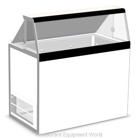 Master-Bilt DD-46 Display Case, Dipping Ice Cream