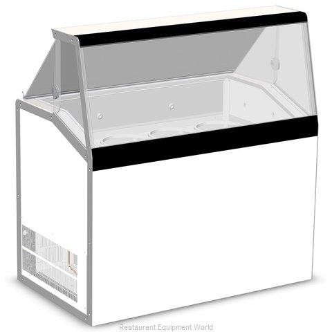 Master-Bilt DD-46L Display Case, Dipping Ice Cream