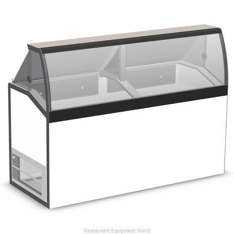 Master-Bilt DD-66LCG Display Case, Dipping Ice Cream
