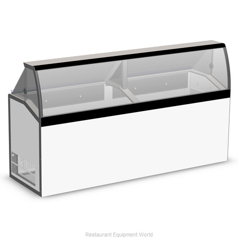 Master-Bilt DD-88LCG Display Case, Dipping Ice Cream