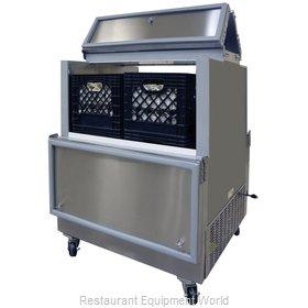 Master-Bilt DOMC-084SS-A Milk Cooler / Station