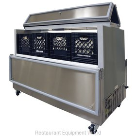 Master-Bilt DOMC-164-A Milk Cooler / Station
