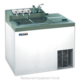 Master-Bilt FLR-60 Ice Cream Dipping Cabinet With Syrup Rail