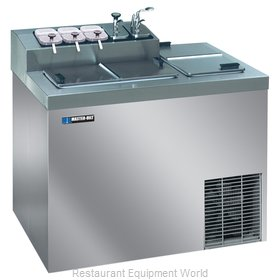 Master-Bilt FLR-60SE Ice Cream Dipping Cabinet With Syrup Rail