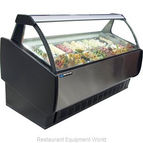 Master-Bilt GEL-12 Display Case, Dipping, Gelato/Ice Cream