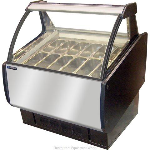 Master-Bilt GEL-6 Display Case, Dipping, Gelato/Ice Cream