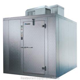 Master-Bilt MB5760810FIHDX Walk In Freezer, Modular, Self-Contained