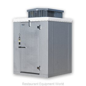 Master-Bilt MB5860810FOHDX Walk In Freezer, Modular, Self-Contained