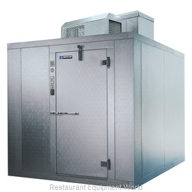 Master-Bilt MB5861010FIX Walk In Freezer, Modular, Self-Contained