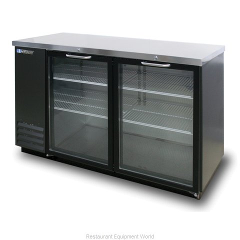 Master-Bilt MBBB59-G Back Bar Cabinet, Refrigerated