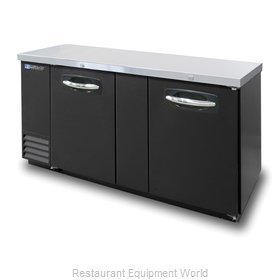 Master-Bilt MBBB69 Backbar Cabinet Refrigerated