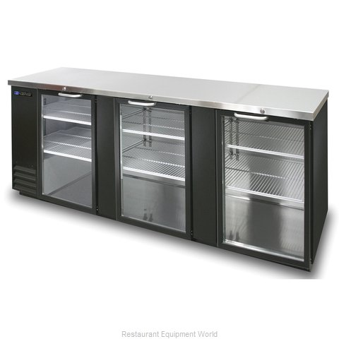 Master-Bilt MBBB95-G Backbar Cabinet Refrigerated