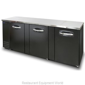 Master-Bilt MBBB95 Back Bar Cabinet, Refrigerated