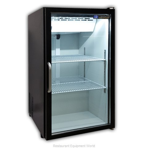 Master-Bilt MBCTM7-B Display Case Refrigerated Countertop (Magnified)