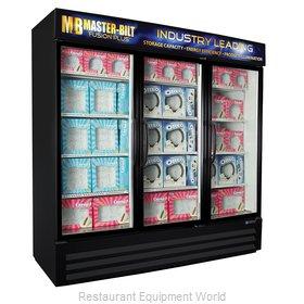 Master-Bilt MBGFP74-HG Freezer, Merchandiser
