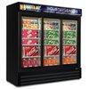 Three Door Refrigerator Merchandisers