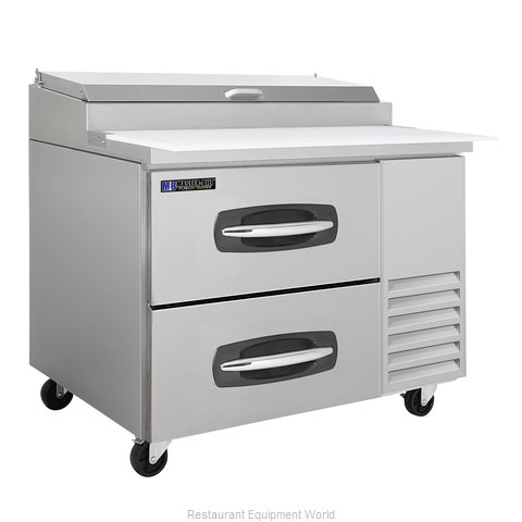 Master-Bilt MBPT44-001 Refrigerated Counter, Pizza Prep Table