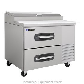 Master-Bilt MBPT44-001 Pizza Prep Table Refrigerated