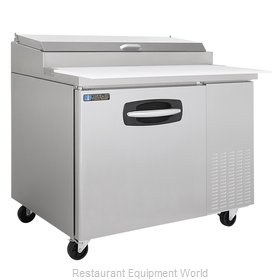 Master-Bilt MBPT44 Refrigerated Counter, Pizza Prep Table