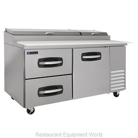 Master-Bilt MBPT67-003 Pizza Prep Table Refrigerated