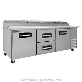 Master-Bilt MBPT93-004 Refrigerated Counter, Pizza Prep Table