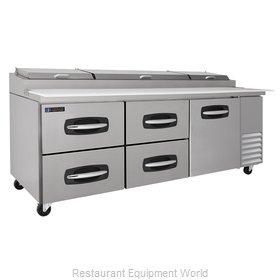 Master-Bilt MBPT93-007 Refrigerated Counter, Pizza Prep Table
