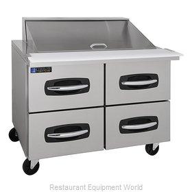 Master-Bilt MBSMP48-18A-001 Refrigerated Counter, Mega Top Sandwich / Salad Unit