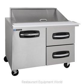 Master-Bilt MBSMP48-18A-002 Refrigerated Counter, Mega Top Sandwich / Salad Unit