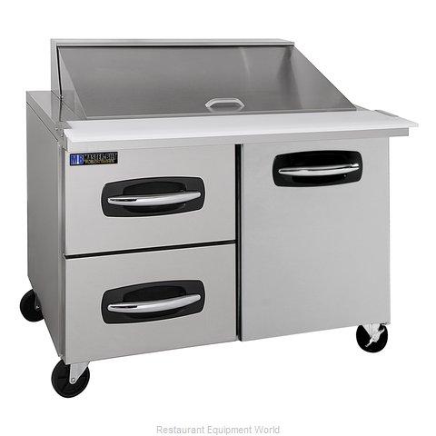 Master-Bilt MBSMP48-18A-003 Refrigerated Counter, Mega Top Sandwich / Salad Unit