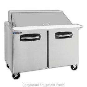 Master-Bilt MBSMP48-18A Refrigerated Counter, Mega Top Sandwich / Salad Unit