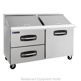 Master-Bilt MBSMP60-24A-003 Refrigerated Counter, Mega Top Sandwich / Salad Unit