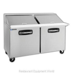 Master-Bilt MBSMP60-24A Refrigerated Counter, Mega Top Sandwich / Salad Unit