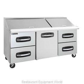 Master-Bilt MBSMP72-30A-005 Refrigerated Counter, Mega Top Sandwich / Salad Unit