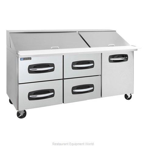 Master-Bilt MBSMP72-30A-007 Refrigerated Counter, Mega Top Sandwich / Salad Unit
