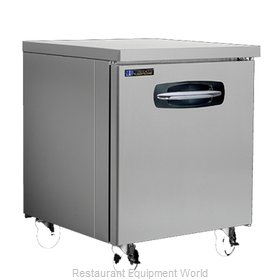 Master-Bilt MBUF27A-015 Freezer, Undercounter, Reach-In