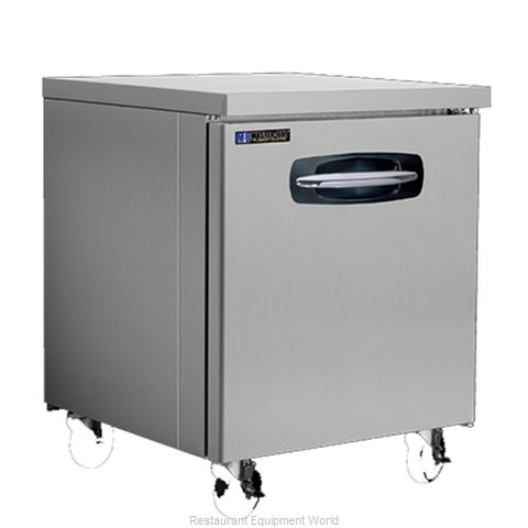 Master-Bilt MBUF27A Freezer, Undercounter, Reach-In