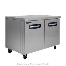 Master-Bilt MBUF48A-015 Freezer, Undercounter, Reach-In