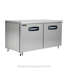 Master-Bilt MBUF60A Freezer, Undercounter, Reach-In