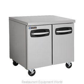 Master-Bilt MBUR36A-013 Refrigerator, Undercounter, Reach-In