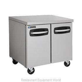 Master-Bilt MBUR36A-015 Refrigerator, Undercounter, Reach-In