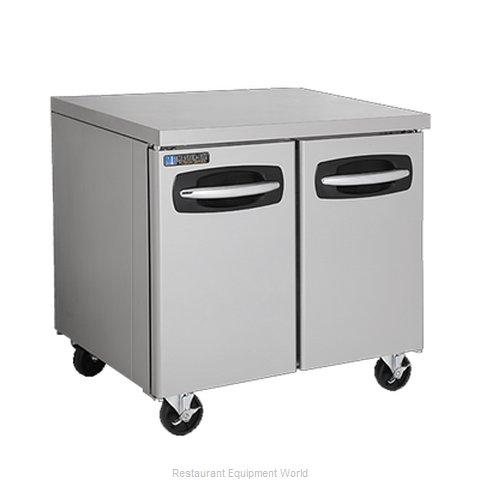 Master-Bilt MBUR36A Refrigerator, Undercounter, Reach-In