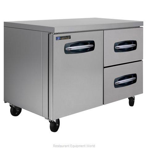 Master-Bilt MBUR48A-002 Refrigerator, Undercounter, Reach-In