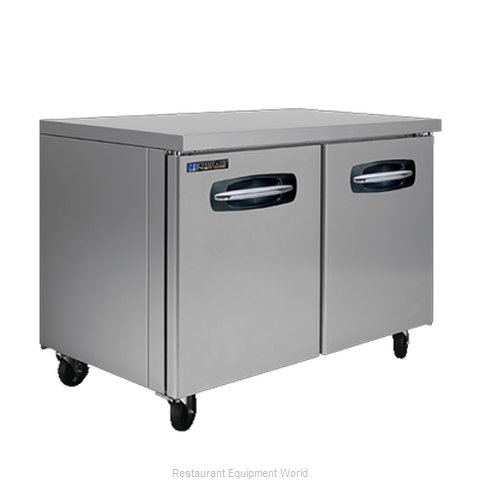 Master-Bilt MBUR48A-015 Refrigerator, Undercounter, Reach-In