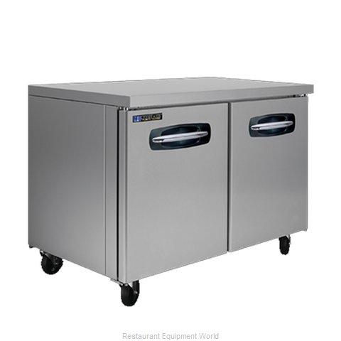 Master-Bilt MBUR48A Refrigerator, Undercounter, Reach-In
