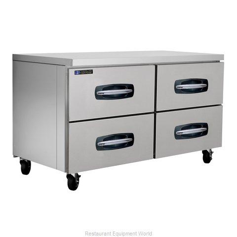 Master-Bilt MBUR60A-001 Refrigerator, Undercounter, Reach-In