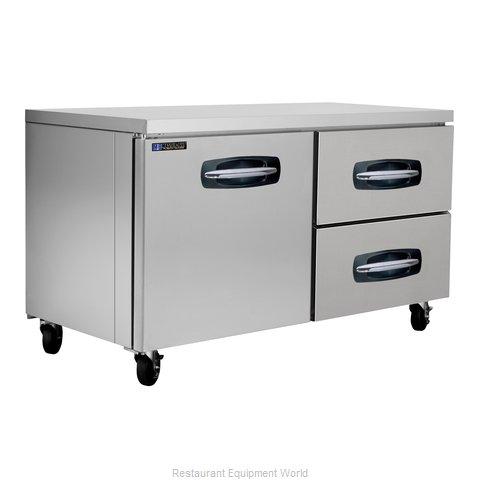 Master-Bilt MBUR60A-002 Refrigerator, Undercounter, Reach-In