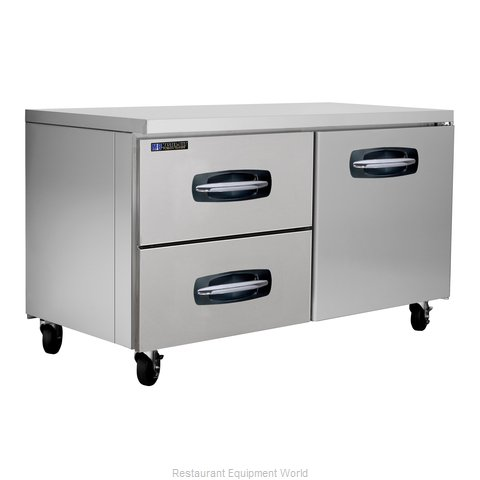 Master-Bilt MBUR60A-003 Refrigerator, Undercounter, Reach-In