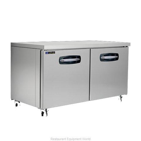 Master-Bilt MBUR60A Refrigerator, Undercounter, Reach-In